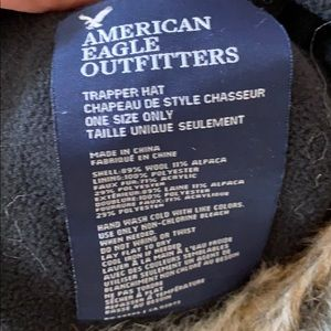 a077c3f22 American Eagle Outfitters AE Trapper Hat Mohawk